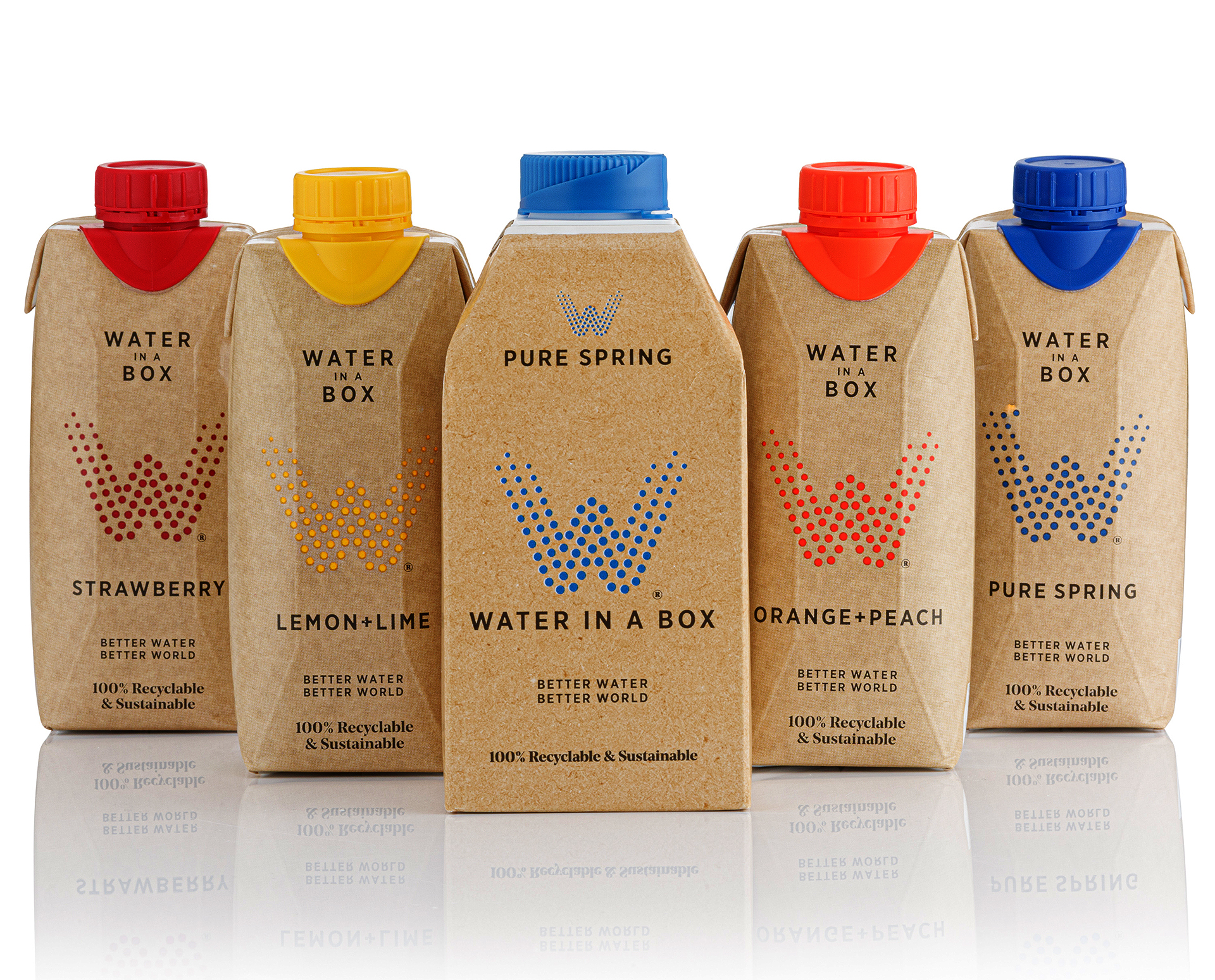 Water In A Box Product Range